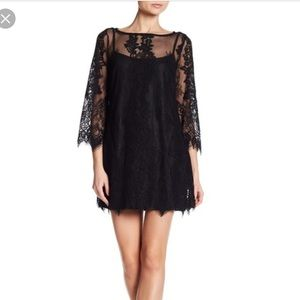 Rachel Roy lace dress with bell sleeves size 14